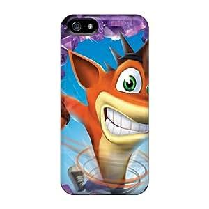 JohnPrimeauMaurice Iphone 5/5s Excellent Hard Phone Cases Provide Private Custom High-definition Crash Bandicoot Skin [Eoa9956FYsJ]