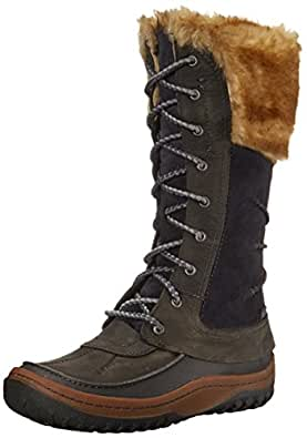 Merrell Women's Decora Prelude Waterproof Winter Boot, Wild Dove, 5 M US