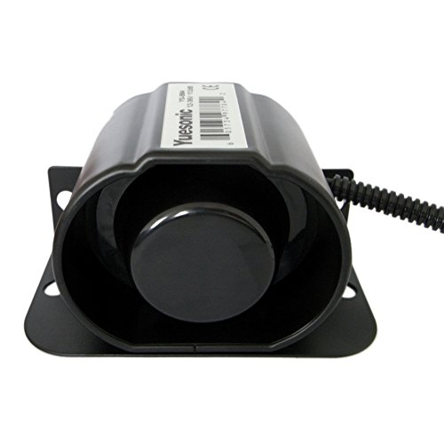 Yuesonic 12-36V 112dB Waterproof Heavy-Duty Back-Up Alarm for Trucks Construction Machines etc