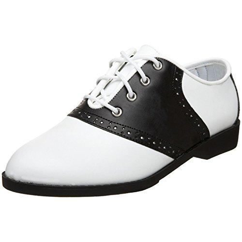 Endless Road 50 (7, White/Black) Saddle Shoes