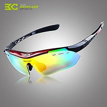 Polarizadas Polaroid bicicleta UV gafas de sol gafas de sol: Amazon.es: Deportes y aire libre