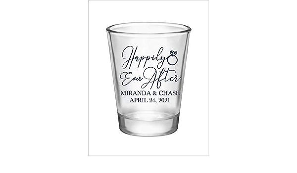 Custom Shot Glasses for Weddings To Love Laughter /& Happily Ever After Wedding Favor Shot Glasses Wedding Personalized Shot Glasses 23