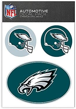 2-Pack Team ProMark NFL Philadelphia Eagles Micro Flame Decal