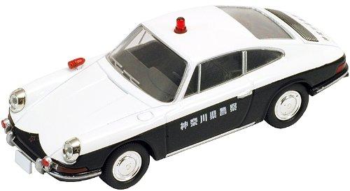 1/64 TLV-85a ポルシェ912 1968年式 パトロールカー 神奈川県警(ホワイト×ブラック) 「トミカリミテッドヴィンテージ」 222484の商品画像