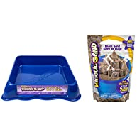 Ultimate Kinetic Sand GIFT SET! Includes Sand Box & 3 lbs of Sand (Sandbox color will vary.)