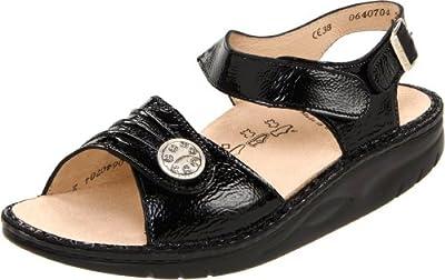 Finn Comfort Women's Sausalito Ankle-Strap Rocker Sandal