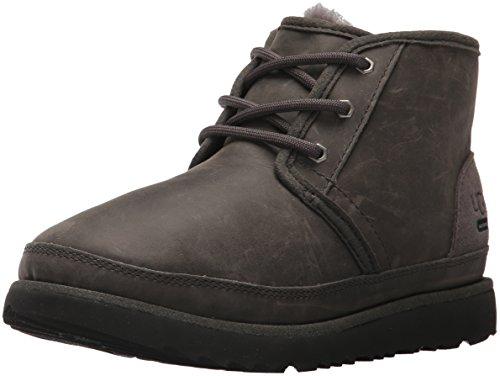 UGG Kids K Neumel II WP Pull-on Boot, Charcoal, 5 M US Big Kid (Kids Waterproof Ugg Boots)