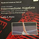 Intermediate Algebra 9780201172980