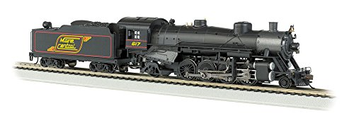 Bachmann Industries Trains Usra Light 2-8-2 Dcc Sound Maine Central 617 with Medium Tender Ho Scale Steam Locomotive