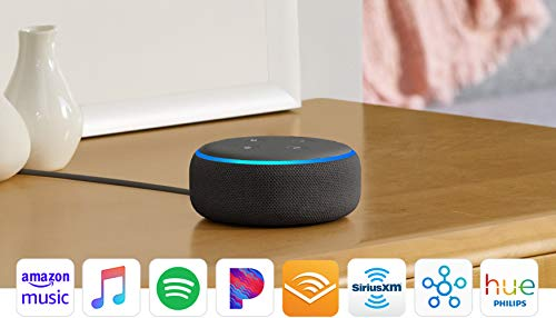 Large Product Image of All-new Echo Dot (3rd Gen) - Smart speaker with Alexa - Charcoal