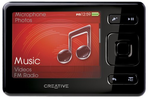 Creative Zen 8 GB Portable Media Player (Black) (8gb Creative Zen Player Mp3)
