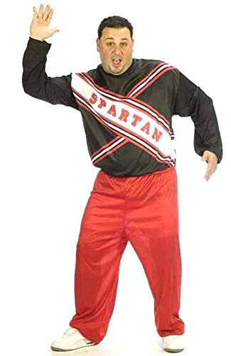 Male Spartan Cheerleader Plus Size Costume