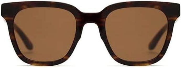 男性と女性のファッションボックスサングラスカラーフィルムサングラス男性と女性のプレートサングラスUV保護のためのサングラス (Color : 褐色) 褐色