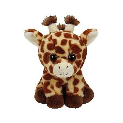 Ty 41199 Peaches Giraffe Beanie Babies, Multicolored, 15 cm: Toys & Games