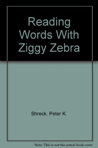 Ziggy Zebra - Reading Words With Ziggy Zebra