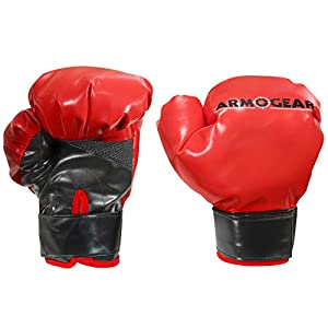 Well-Being-Matters 41xG5DI6r7L._SS300_ ArmoGear Kids Boxing Gloves with Easy Closure | Fits Kids & Teens | Cushion Pillow Like Fill for Play Fighting & Boxing… (Small - Kids)