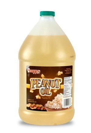 Snappy Popcorn 1 Gallon Snappy Pure Peanut Oil No Color Added, 128 Fl Oz by Snappy Popcorn