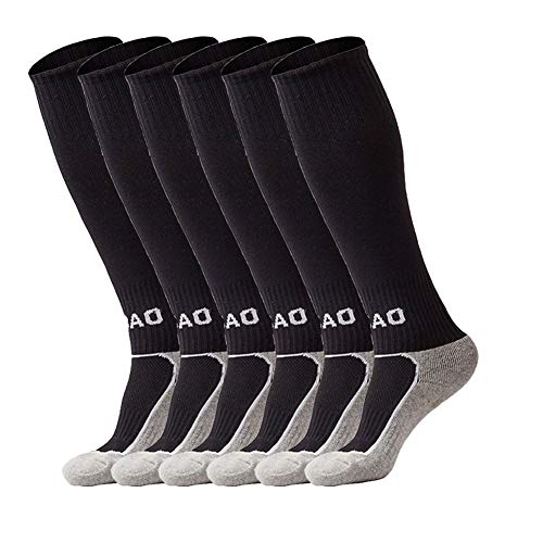 VANDIMI Little Boys/Girls Outfits Compression Long Sport Soccer Socks Pack (Kids/Youth Gifts)