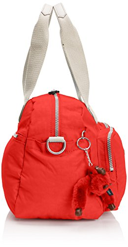 Pink C Kipling Shoulder Defea Womens Rose Bag Coral Owwq4HvSx