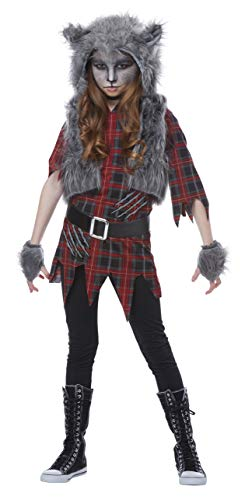 Halloween Werewolf Costumes For Kids (Werewolf Girl Girls Costume)