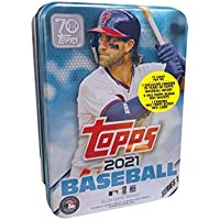 $24 » 2021 Topps Series 1 MLB Baseball Tin (75 cards/bx, Harper)