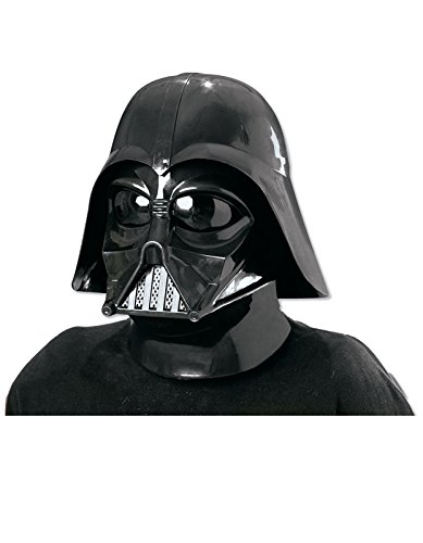 Masks Of The World For Sale (Star Wars Darth Vader Deluxe Adult Full Face Mask, Black, One Size)
