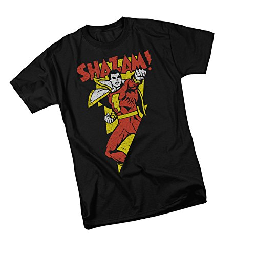 Bolt - Shazam -- DC Comics Adult T-Shirt, XXX-Large