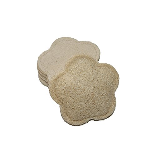 Shaped Flower Natural Exfoliating Scrubber