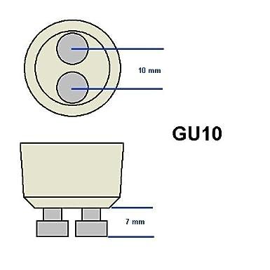 Bulbrite 75MR20//GU10F 75-Watt 120-Volt Halogen MR20 Lensed GU10 Base Flood