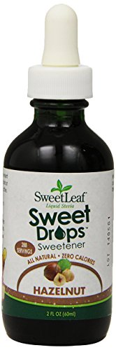 SweetLeaf Wisdom Naturals Liquid Stevia Hazelnut Flavor, 2 oz. ( packaging may vary )