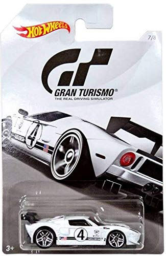 Hot Wheels FORD GT 2018 GRAN TURISMO Series #2 White FORD GT