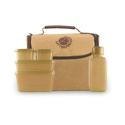 New Wave Enviro Litter Free Lunch Bag (Tan)