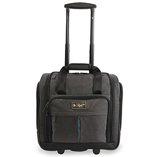 Rolling Under Seat Carry On Bag - 4