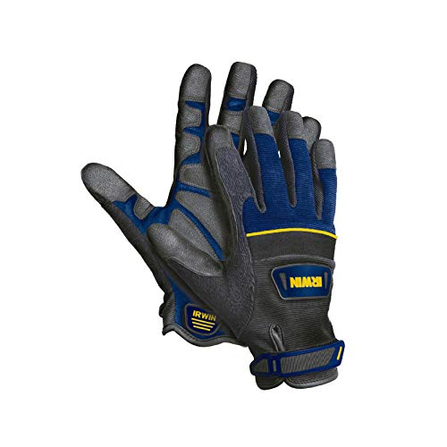 IRWIN Tools Heavy-Duty Jobsite Gloves, Large (432001)