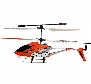 Yiboo 4703 Mini Metal Gyroscope 3.5 Channel Infrared RC Helicopter Red