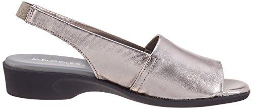 Aerosoles Cush Flow - Sandalias Mujer Silber (cana Di Fucile)