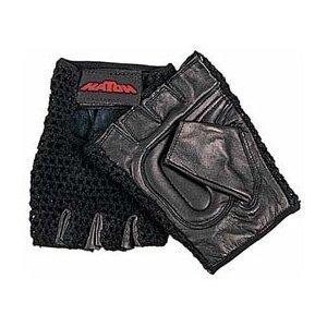 Sammons Preston Hatch All-Purpose Padded Mesh Wheelchair Gloves (Large ) - Divine Mesh