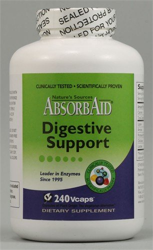 Absorbaid Absorbaid Digestive Enzyme Capsules 240 Capsules Review