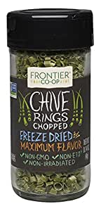 Frontier Natural Products Chives Freeze-Dried, 0.14-Ounce