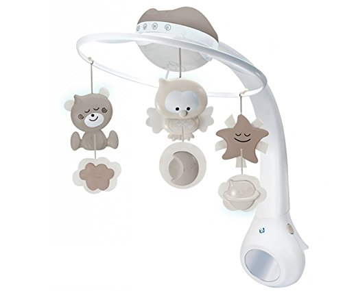 Infantino 3in 1 Melody Mobil, Baby's Merry Multi Mobile (CREAM) by Infantino..