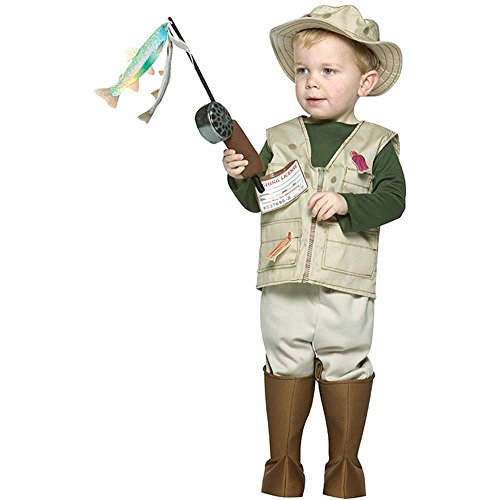 Future Fisherman Child Costumes - Future Fisherman Toddler Costume - 2-4T