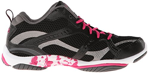 Training Women's Cross Enhance Zumba Pink Metallic Shoe Black Ryka Steel 2 Grey BIwxanq1WR