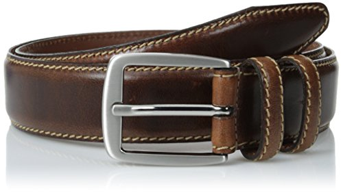 Allen Edmonds Men's Yukon Belt, Brown, 38