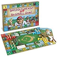 Griddly Headz Baseball Game Deluxe Edition