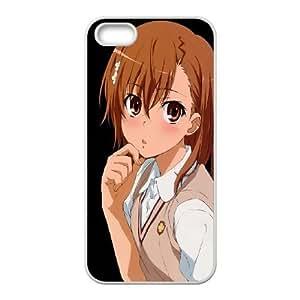 School Girl Anime Wonder Humildad 12734 iPhone 4 Caja del teléfono celular 4s funda blanca del teléfono celular Funda Cubierta EOKXLKNBC03742
