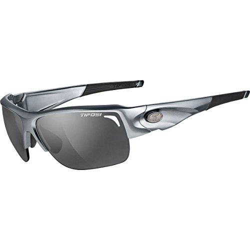 Tifosi Optics Elder Photochromic Sunglasses Gloss Gunmetal/Smoke - Polarized, One Size - Men's