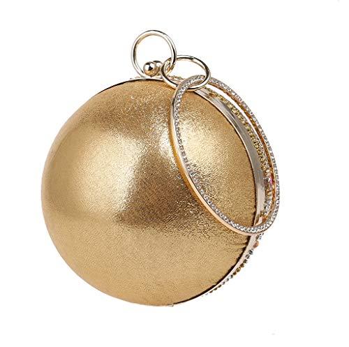 Dorado dorado 3 Dorado para YHB441 Bolso hombro al mujer BESTWALED wBCZXzqxW