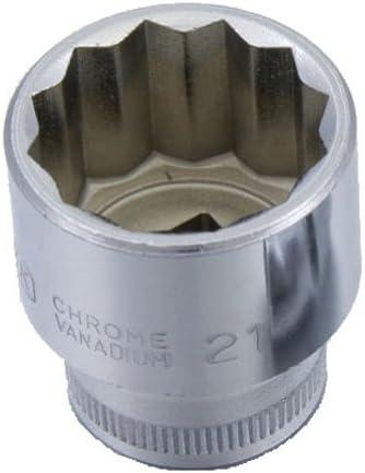 "SEK 3/8""(9.5) DR.スタンダードソケット(ミリ) 22mm OS3220"