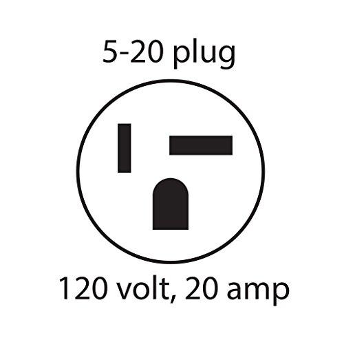 ESP Digital QC Surge Protector/Noise Filter - D5141NT - 120 Volt, 20 Amp with NEMA 5-20 Connectors by ESP (Image #2)