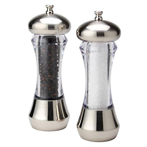 - Olde Thompson 5595-00 Sienna Mess-Free Salt & Pepper Mill, 7